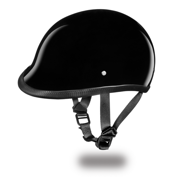 Daytona DOT Hawk Helmet - Hi-Gloss Black