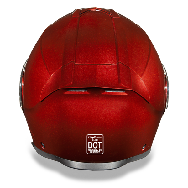 Daytona DOT Modular with Inner Shield - Black Cherry Metallic