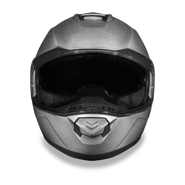 Daytona DOT Modular with Inner Shield - Silver Metallic