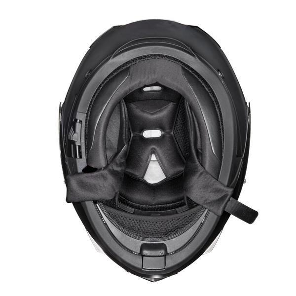 Daytona DOT Modular with Inner Shield - Dull Black