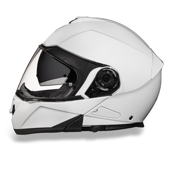 Daytona DOT Modular with Inner Shield - HI-Gloss White
