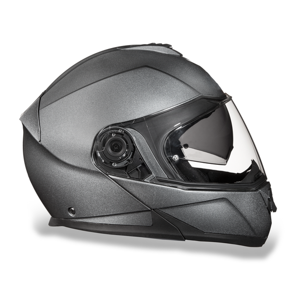 Daytona DOT Modular with Inner Shield - Gun Metal Grey Metallic