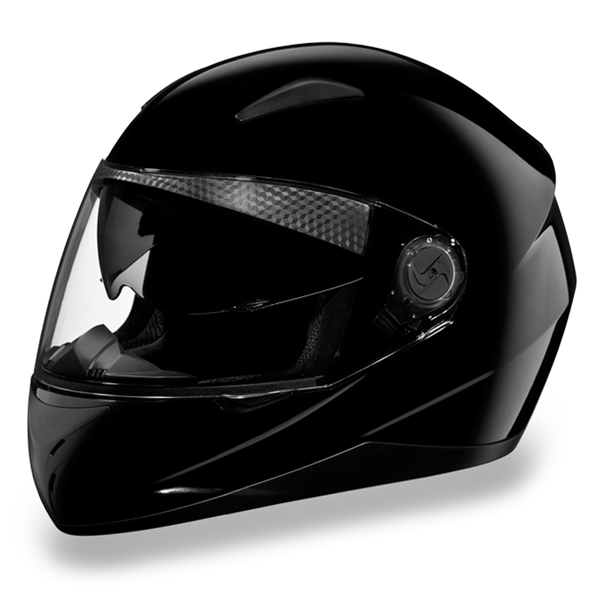 Daytona DOT Full Face Helmet - Shifter - HI-Gloss Black