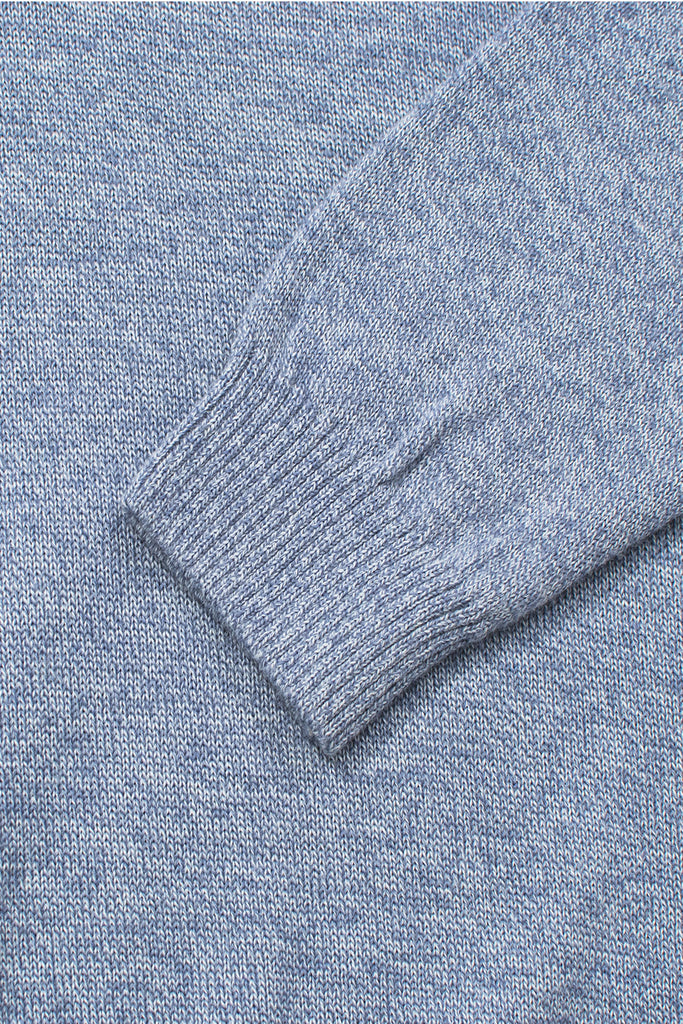 shawl collar merino wool blend sweater
