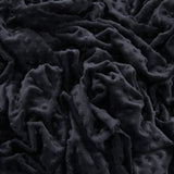Minky Dimple Dot Fabric - Black