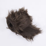 FabricLA Faux Fur Vegan Animal Friendly Designer Fashion Mohair Fabric Dark Brown