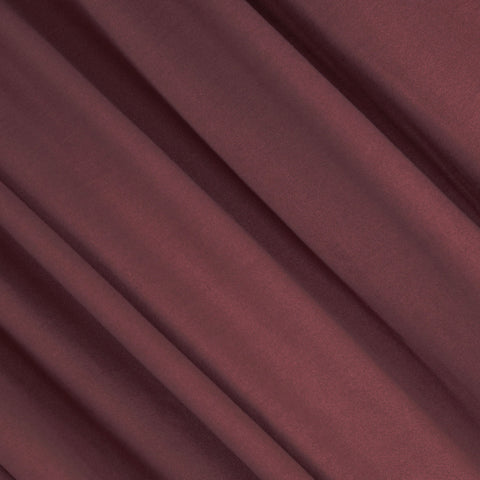 FabricLA | DTY Double Brushed Polyester Spandex Knit Fabric | Sold by the Yard | Shorts, pants, sleeveless blouses, T-shirts | Marsala