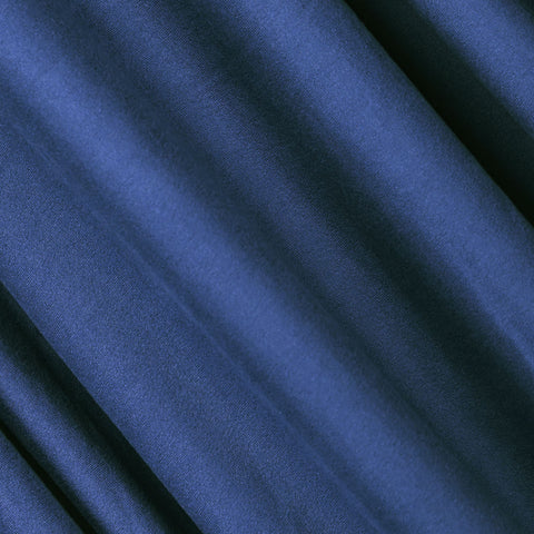 FabricLA | DTY Double Brushed Polyester Spandex Knit Fabric | Sold by the Yard | Shorts, pants, sleeveless blouses, T-shirts | Periwrinkle Blue