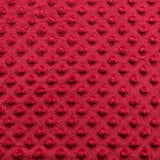 Minky Dimple Dot Fabric - Red