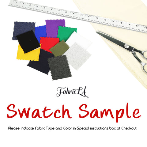 Fabric Swatch Sample - FabricLA.com