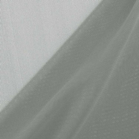 Nylon Spandex Performance Power Mesh Fabric by the Yard, Grey (LF2) - FabricLA.com