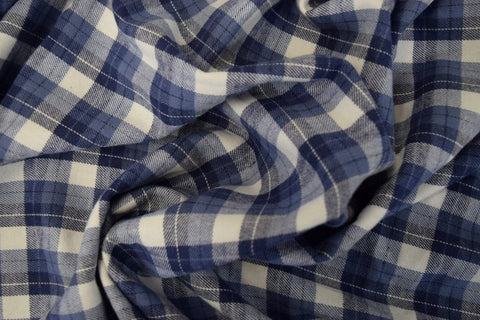 Cotton Flannel Plaid Tartan Style#12 - FabricLA.com