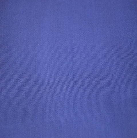 Cotton Stretch Poplin Fabric by the yard -Royal Blue - FabricLA.com