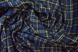 Cotton Flannel Plaid Tartan Fabric b the yard Style#28 - FabricLA.com