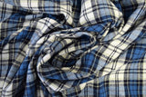 Cotton Flannel Plaid Tartan Fabric by the yard Style#10 - FabricLA.com