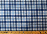 Cotton Flannel Plaid Tartan Fabric by the yard Style#15 - FabricLA.com