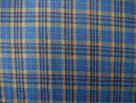 Cotton Flannel Plaid Tartan Fabric by the yard Style#14 - FabricLA.com