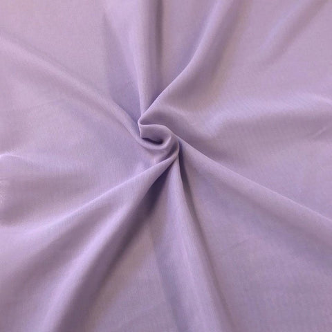 Hi Multi Chiffon Fabric sold by the yard - Lilac (LF1) - FabricLA.com