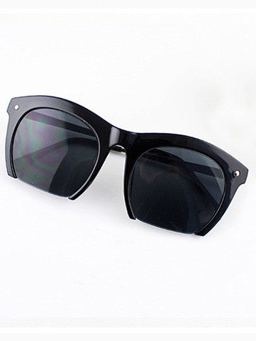 Fashion Black Rim Sunglasses
