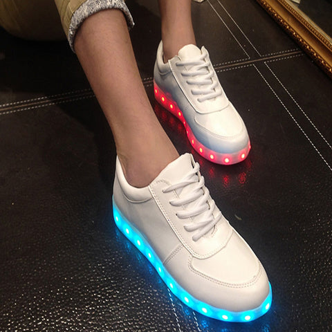 Light Up Led Luminous Shoes Color Glowing Casual Fashion