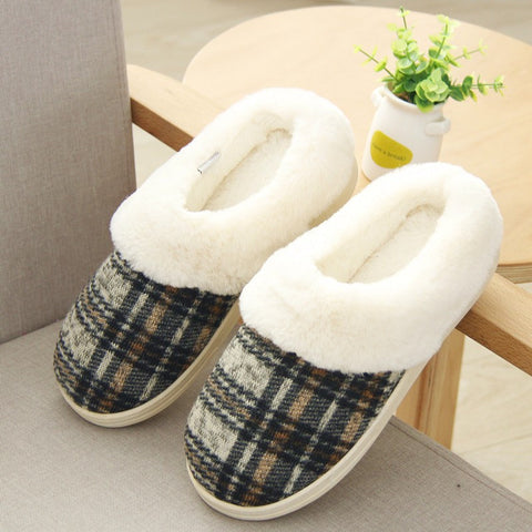 Slippers Non-Slipper Rubber Sole Sewing Indoor Shoes Comfortable