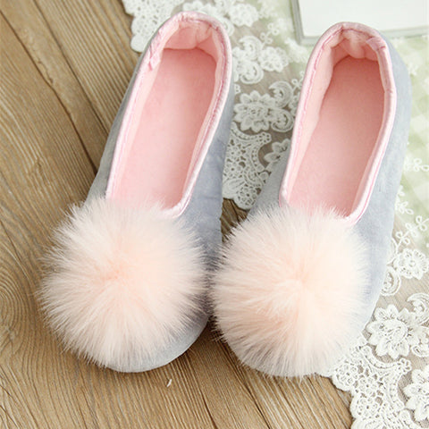 Slippers Sweet Looking Two Colors Spring Autumn Wear