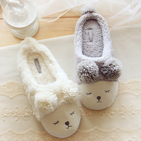 Animal Men Shoes Mujer Slippers Women Home Winter Cute