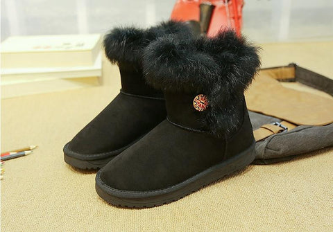 women winter boots warm snow boots fashion platform ankle boots