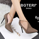 High-heeled Shoes Woman Thin Heels Pumps Party