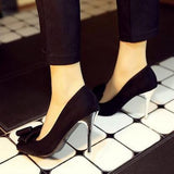 Elegant Spring Shoes Pointed Toe Thin High Heels