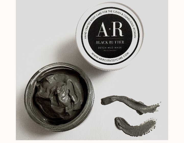 Air Rose Black Butter Detox Mud Mask