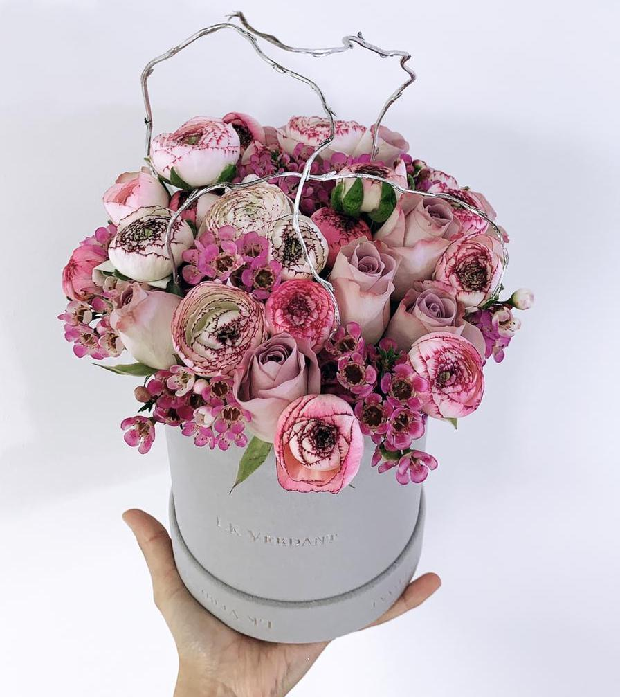The Pretty Purples - Shop for Flowers and Forever Roses - LK VERDANT