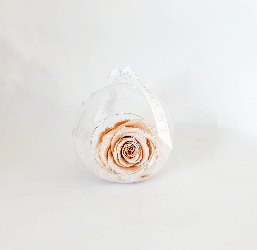 The Always Pearl Peach Rose | Forever Rose - Shop for Flowers and Forever Roses - LK VERDANT