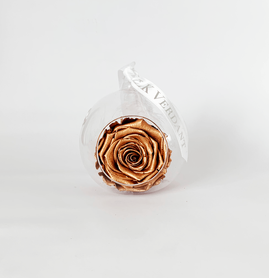 The Always Copper Forever Rose - Shop for Flowers and Forever Roses - LK VERDANT