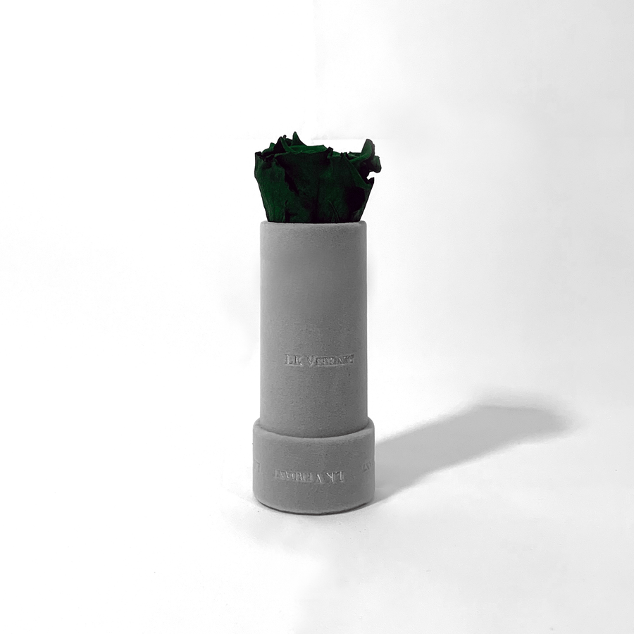 The Candy Grey Emerald Forever Rose - Shop for Flowers and Forever Roses - LK VERDANT
