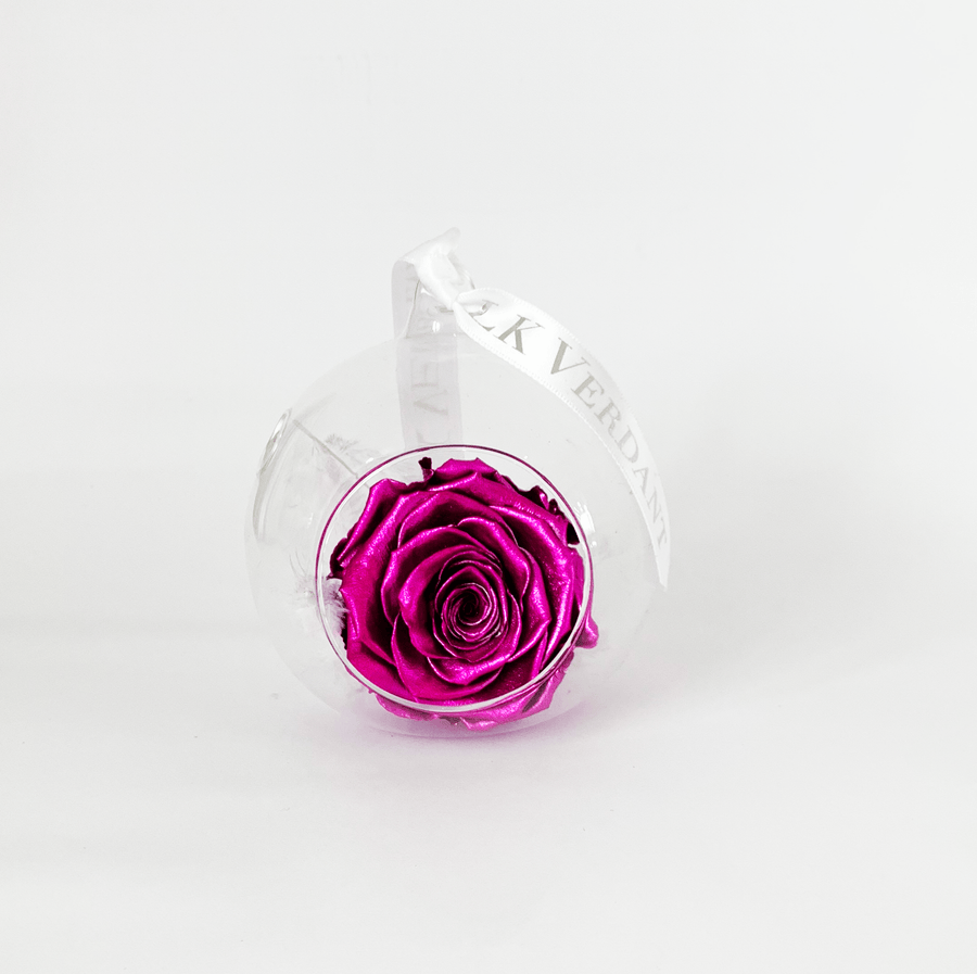 The Always Metallic Pink Forever Rose - Shop for Flowers and Forever Roses - LK VERDANT