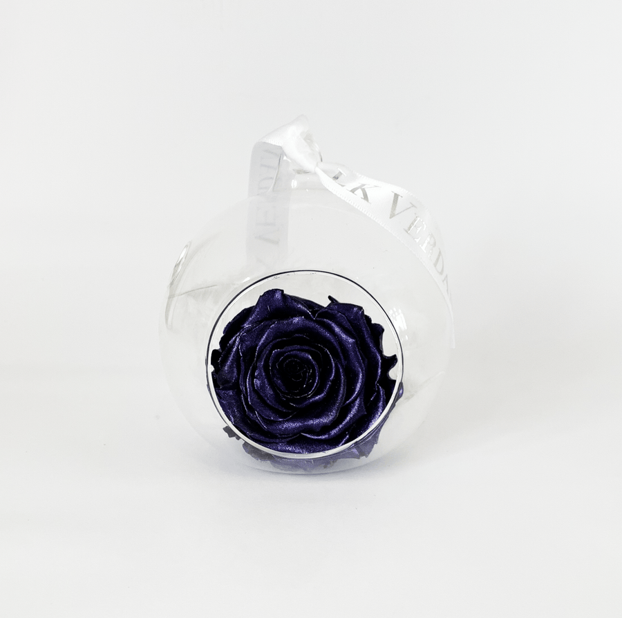The Always Metallic Purple Forever Rose - Shop for Flowers and Forever Roses - LK VERDANT