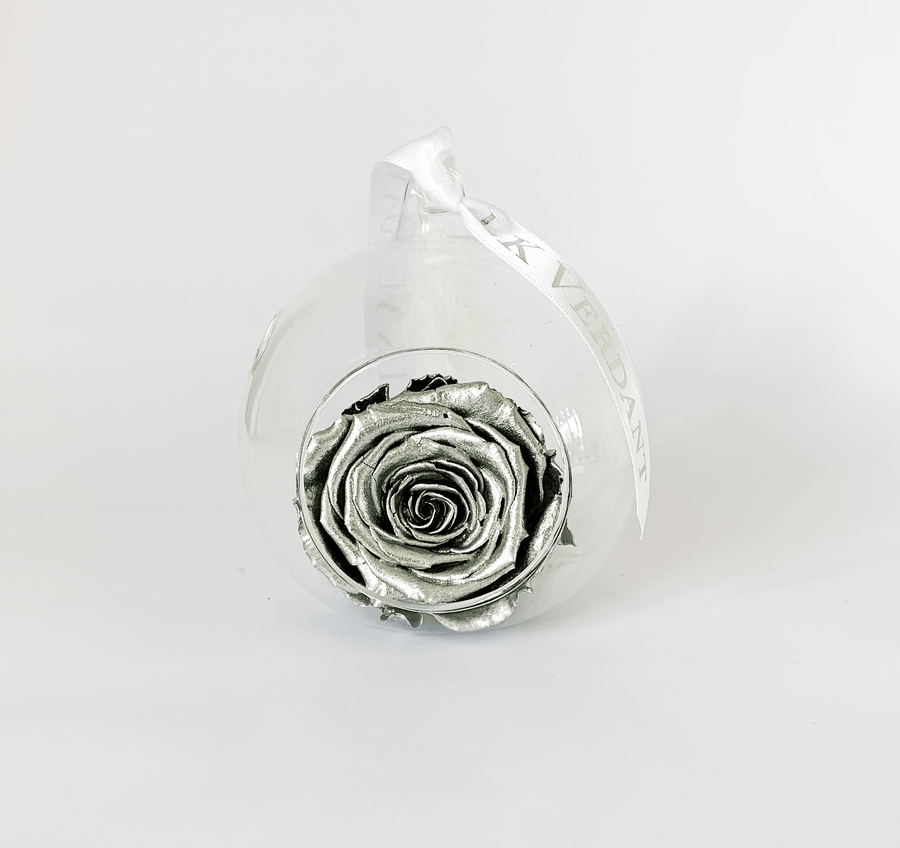 The Always Silver Forever Rose - Shop for Flowers and Forever Roses - LK VERDANT
