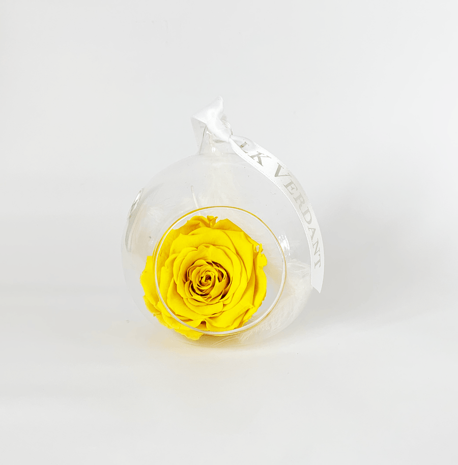 The Always Yellow Forever Rose - Shop for Flowers and Forever Roses - LK VERDANT