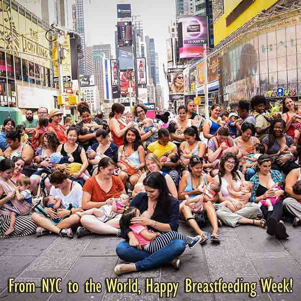 Breast-Pumping and Breastfeeding in Public