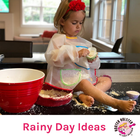 3 Rainy Day Activities to Save Your Sanity