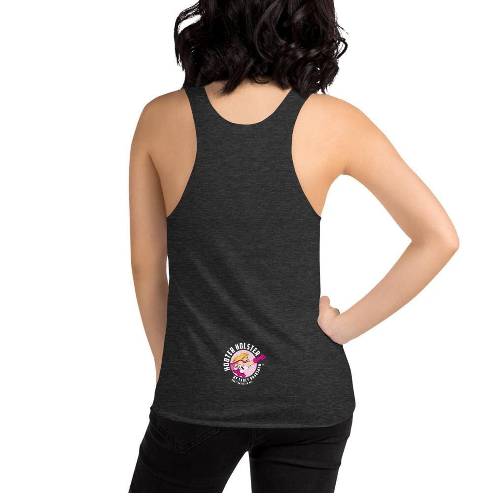 Hooter Holster by Carey Bradshaw Racerback Tank