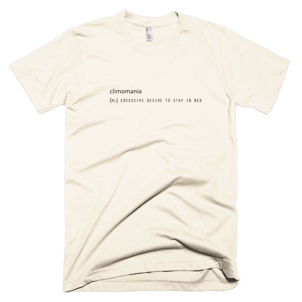 Climomania stay in bed shirt