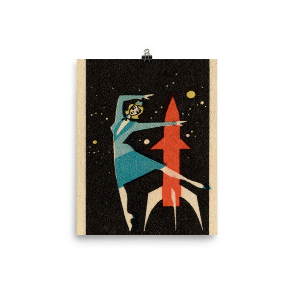 USSR Russian space poster vintage #3
