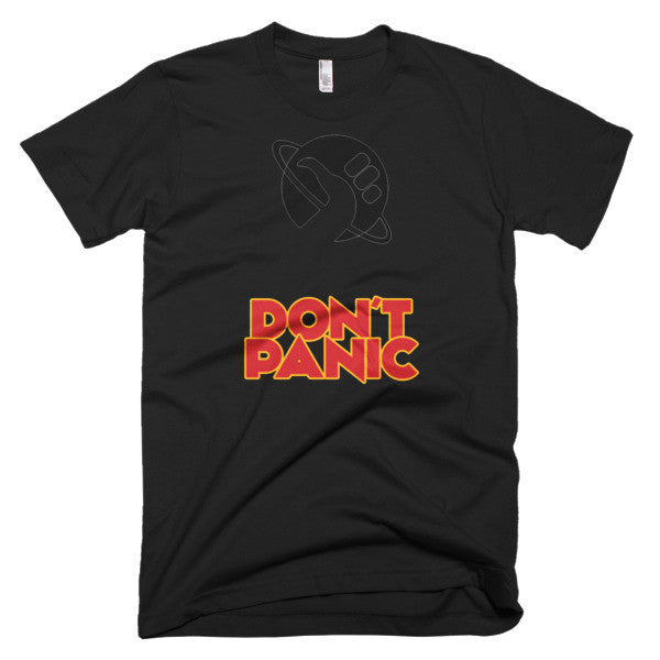Don't Panic shirt Hitchhikers guide to the galaxy