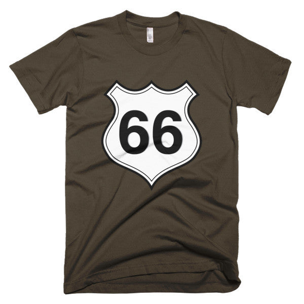 Route 66 logo shirt