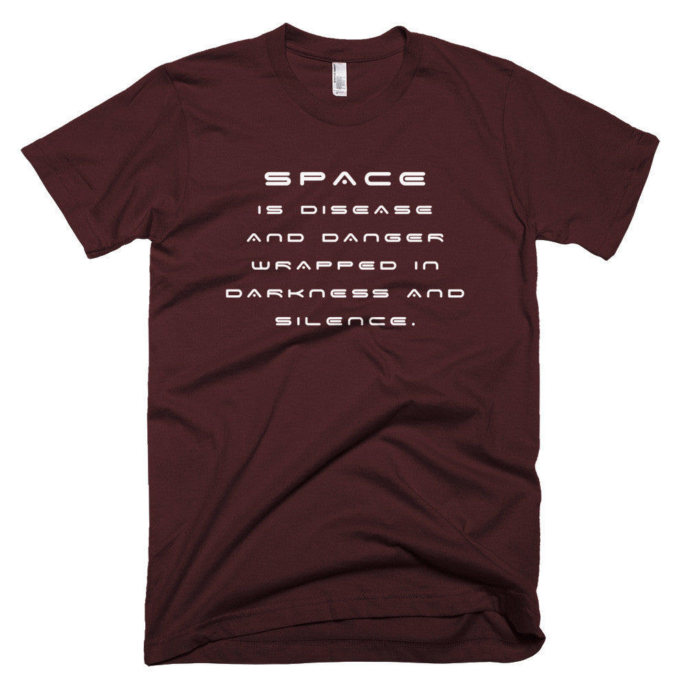 "Star Trek McCoy ""Bones"" space quote shirt"