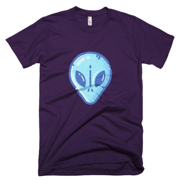 Blue Alien shirt