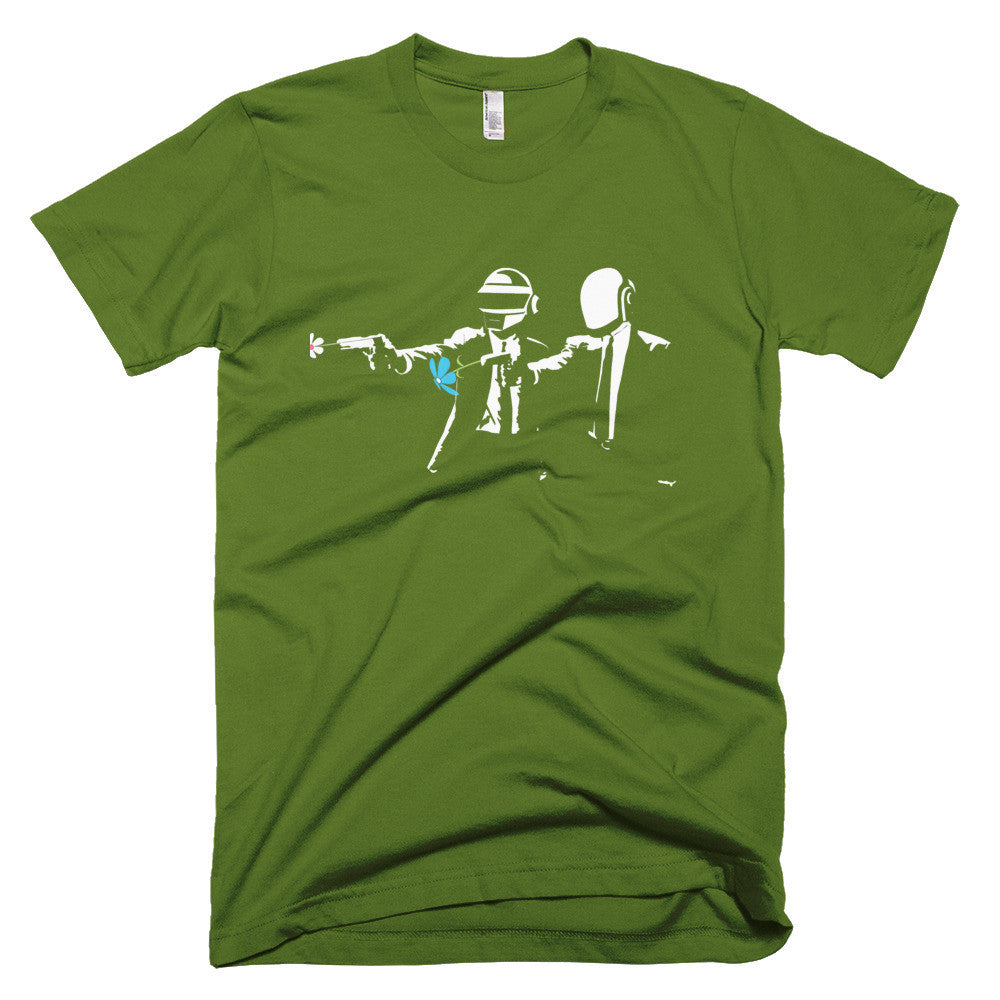 Daft Punk Pulp fiction happy shirt