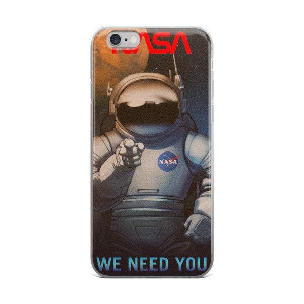 We need you NASA iphone case